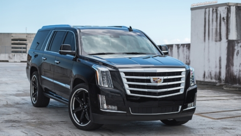 Cadillac Escalade on ANRKY AN36S