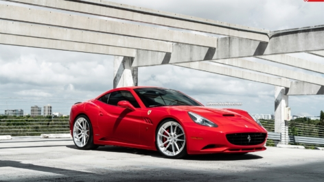 Ferrari California on ANRKY Wheels AN24