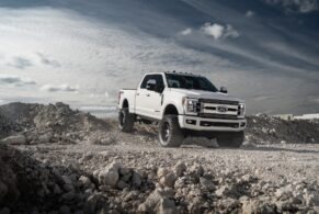 Ford F250 Limited on HRE HD188
