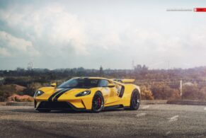 Ford GT (2nd Gen) on ANRKY Wheels AN33