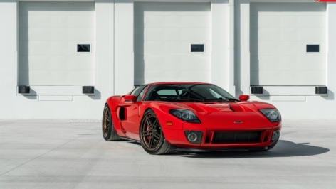 Ford GT on ANRKY Wheels AN37