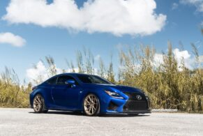 Lexus RCF on ANRKY Wheels AN12