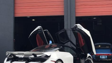 McLaren 720S on ANRKY Wheels AN32