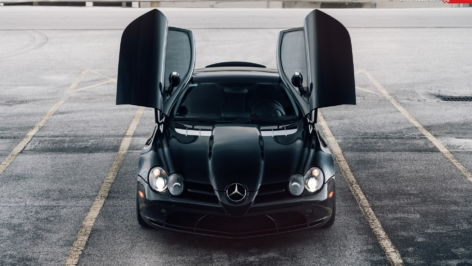 Mercedes SLR McLaren on ANRKY Wheels AN18
