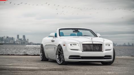 Rolls Royce Dawn on ANRKY Wheels AN33