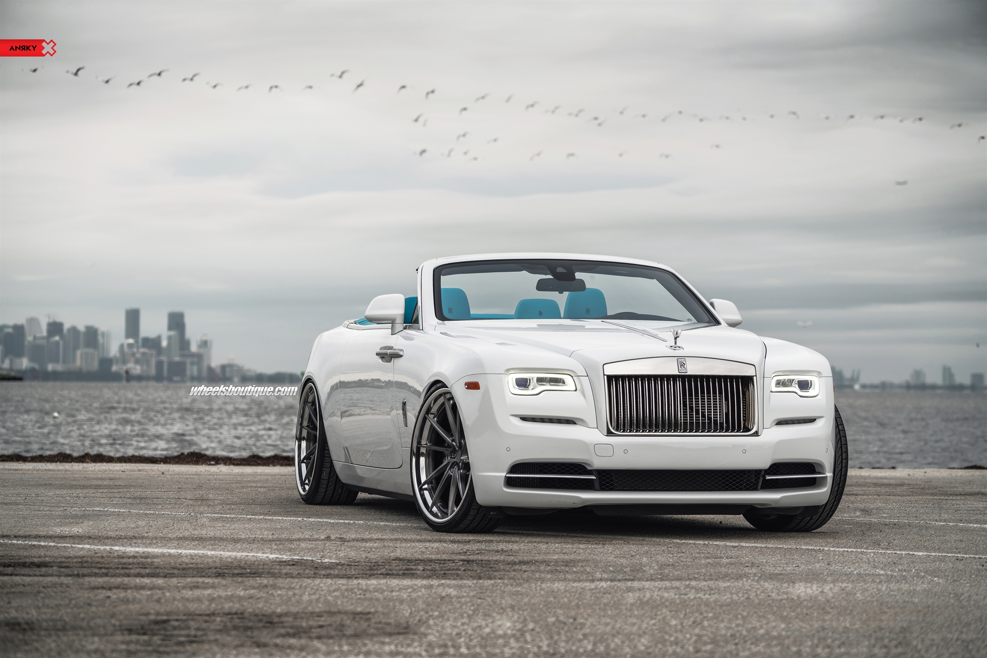Rolls Royce Dawn On Anrky Wheels An33 Gallery Wheels