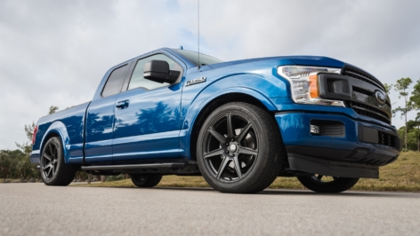Ford F-150 on HRE TR107