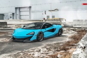 McLaren 600LT Miami Blue on ANRKY AN11