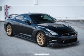 Nissan GTR on HRE R101