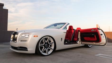 Rolls Royce Dawn on Vorsteiner VSE-002