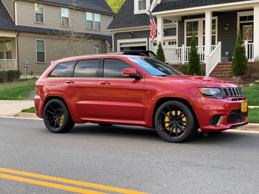 Jeep Grand Cherokee Trackhawk on HRE P104SC