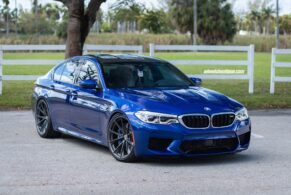 BMW F90 M5 on HRE P204