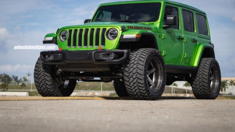 Jeep Wrangler Rubicon on HRE RS105