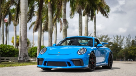 Porsche 991 GT3 on HRE R101 Lightweight