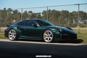 Porsche 991 Turbo S on Anrky AN36S