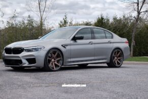 BMW F90 M5 on HRE RS308