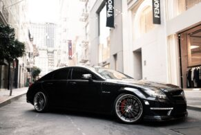 Mercedes CLS63 on HRE RS309