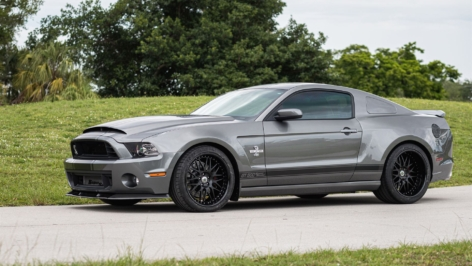 Ford Shelby Mustang GT500 Widebody on HRE 540R