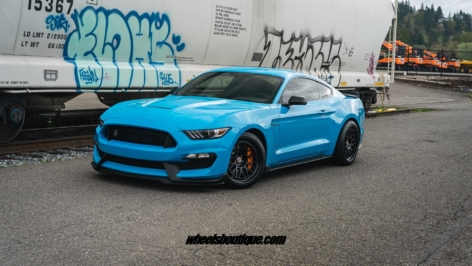 Ford Mustang GT350 on HRE Classic 300