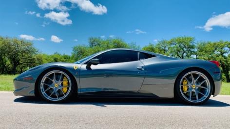 Ferrari 458 on HRE P101