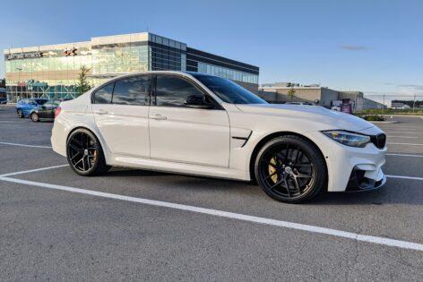 BMW F80 M3 on HRE R101 Lightweight