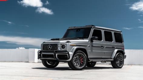Mercedes G63 on ANRKY AN20