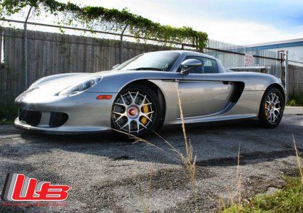 Porsche Carrera GT on HRE CF40
