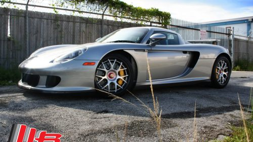 Porsche Carrera GT on HRE CF40