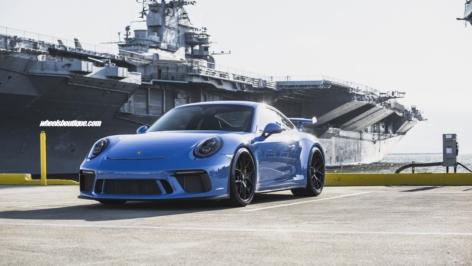 Porsche GT3 on HRE P101