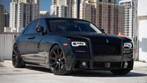 Rolls Royce Ghost on HRE TR109