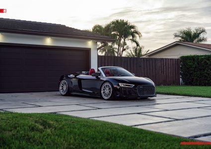 Audi R8 Spyder on ANRKY AN30