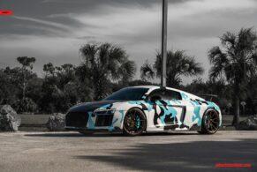 Audi R8 on ANRKY AN12