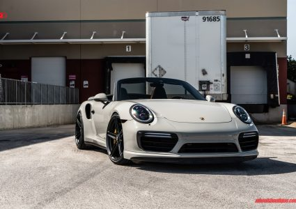 Porsche 991 Turbo Cabriolet on ANRKY AN15