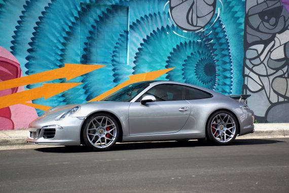 Porsche 991 Carrera S on HRE FF01