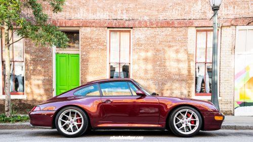 Porsche 993 C4S on HRE R101