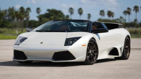 Lamborghini Murcielago LP640 on HRE S201H