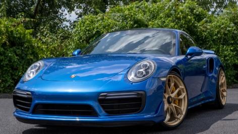 Porsche 991 Turbo on HRE P201