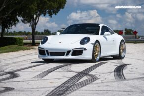 Porsche 991 C4S on 1-of-1 BBS E89 5-Lug