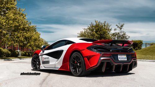 McLaren 600LT on HRE R101 Lightweight