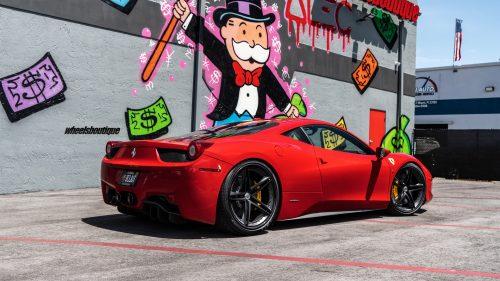 Ferrari 458 on HRE S207