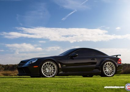 Mercedes SL65 Black Series on HRE P103