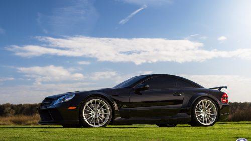 Mercedes SL65 Black Series on HRE P103