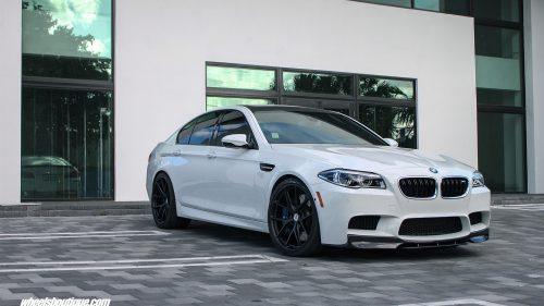 BMW F10 M5 on HRE P101