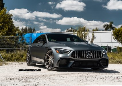 Mercedes AMG GT63S Sedan on HRE P104SC