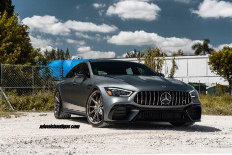 Mercedes AMG GT63S Sedan on HRE P104SC
