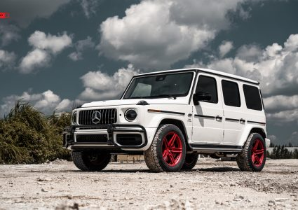 Mercedes G63 on ANRKY AN15