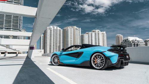McLaren 600LT Spider on ANRKY AN10