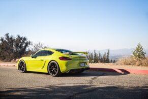 Porsche 981 Cayman GT4 on HRE R101 Lightweight