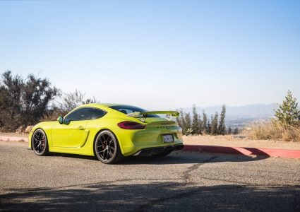 Porsche 981 Cayman GT4 on HRE R101 Lightweight