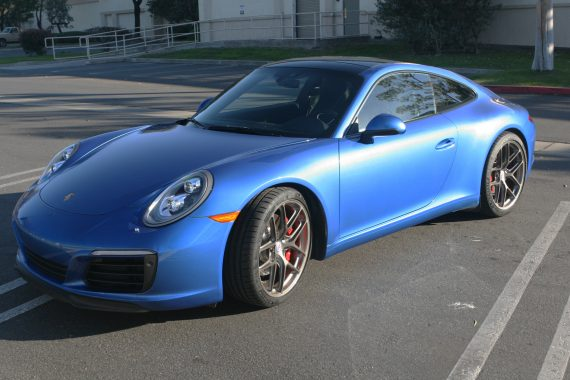 Porsche 991.2 Carrera S on HRE R101 Lightweight